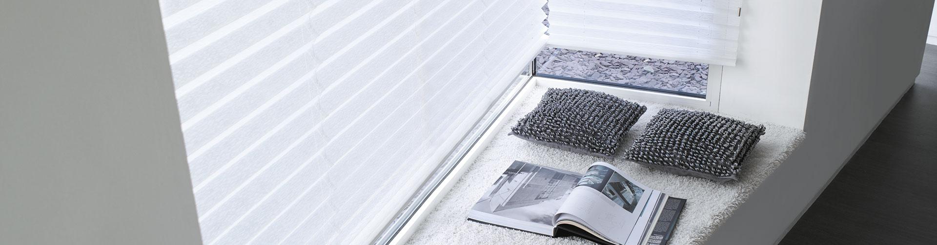wie bestelle ich plissee g nstig im internet. Black Bedroom Furniture Sets. Home Design Ideas
